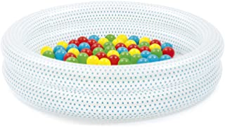 Bestway 51141 - Piscina de Bolas Hinchable Infantil de 2 Anillos Up In & Over 90x20 cm