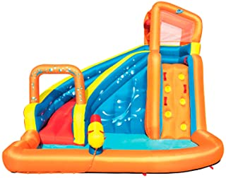 Bestway 53301 - Castillo Hinchable Acuatico Turbo Splash Water Zone Mega Parque 365x320x270 cm
