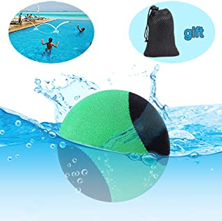 edealing Water Bouncing Ball para Pool & Sea - Divertido Juego de Deportes acuaticos para Familiares y Amigos - Anti-Cracking Soft and Strong Bounce - 2.17 Inch (Verde)