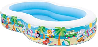 Intex 56490NP - Piscina hinchable rectangular 262 x 160 x 46 cm- 640 litros