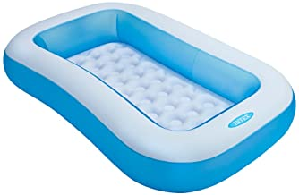 Intex 57403NP - Piscina hinchable rectangular 166 x 100 x 28 cm- 90 litros