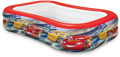 Intex 57478NP - Piscina hinchable licencia Cars 262 x 175 x 56 cm- 770 litros