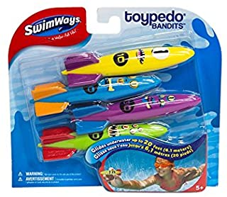 Swimways Pack de 4 Toropedos de agua (BIZAK 61922298)